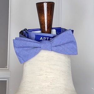 NWT Men's Chambray Bow Tie, Apt. 9
